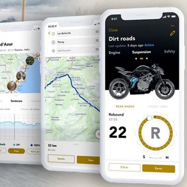 Era Digitalisasi Merambah ke MV Agusta,  Lahirlah MV Ride App