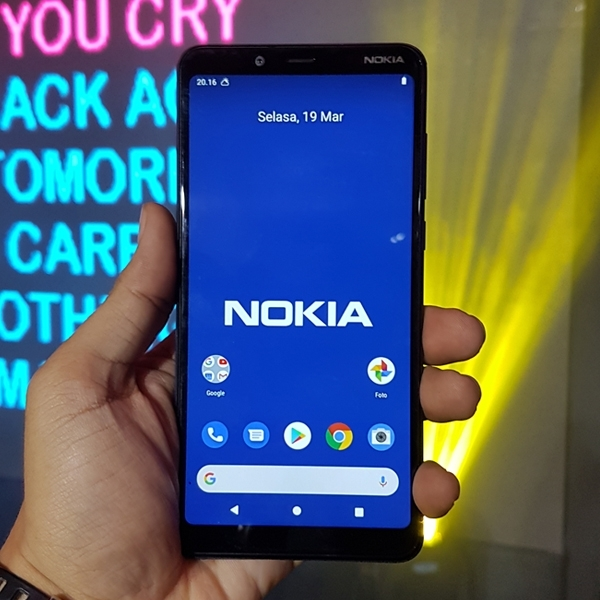 Nokia 3.1 Plus Luncur, Baterai Efektif dan Layar Lebar jadi Andalan