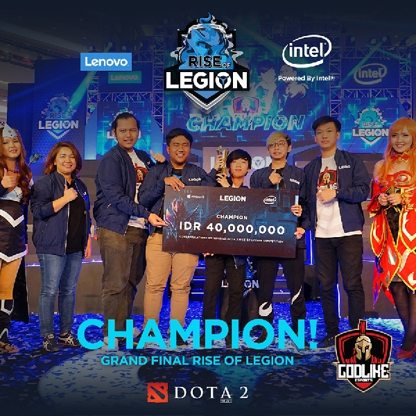 Lenovo Legion Dukung Penuh Tim eSports Indonesia Melaju di Grand Final Legion of Champions Bangkok