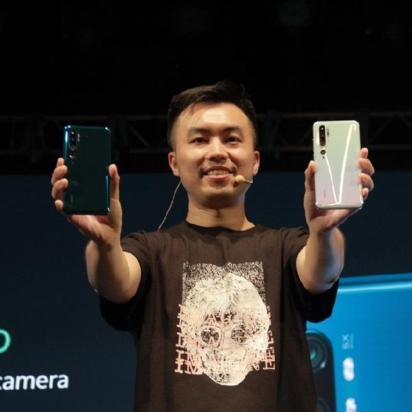 Mi Note 10 Pro Meluncur di Awal Tahun 2020, Penta-camera Pertama di Dunia