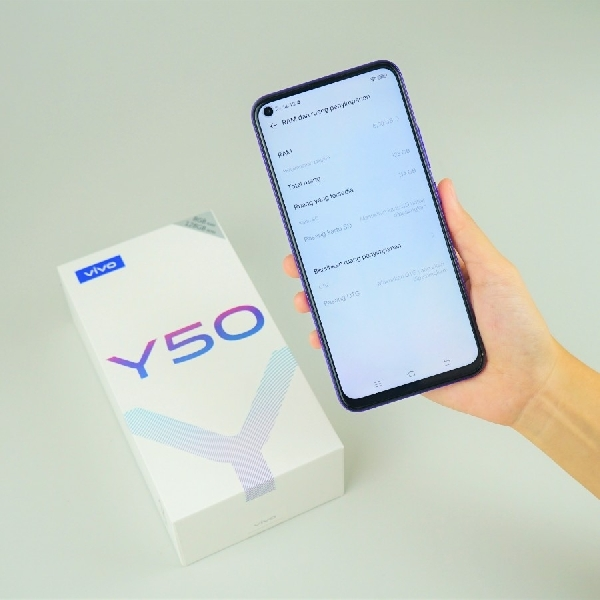 Vivo Luncurkan Y50 dengan Fitur 4K dan Ultra Stable Video
