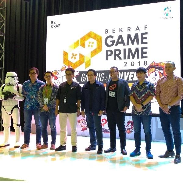 Game Prime 2018 Sukses Jadi Ajang Pameran Game Buatan Anak Bangsa