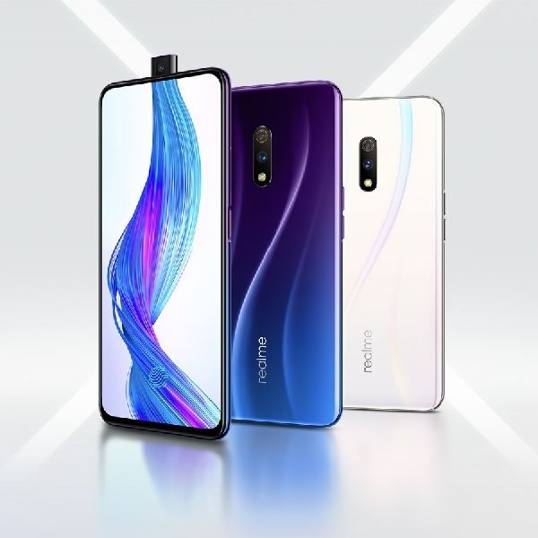 Realme X Bekali Kamera Pop-Up dan Kamera Utama 48MP serta Fitur In-Display Fingerprint