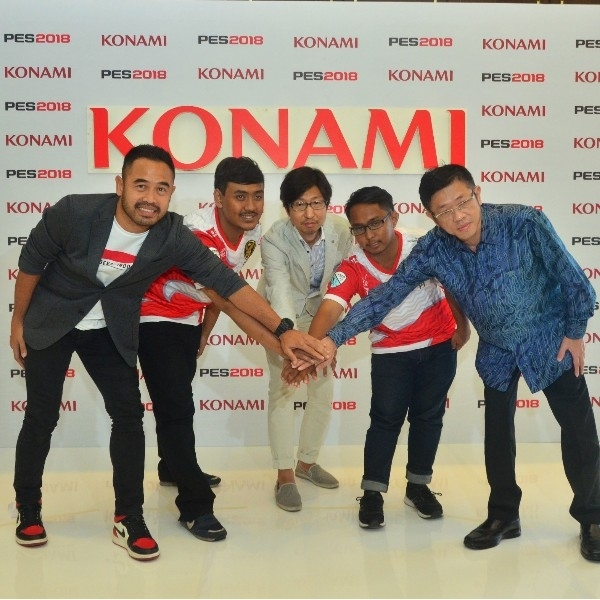 PES 2018 Dipertandingkan di Asian Games, Konami Berikan Dukungan Penuh