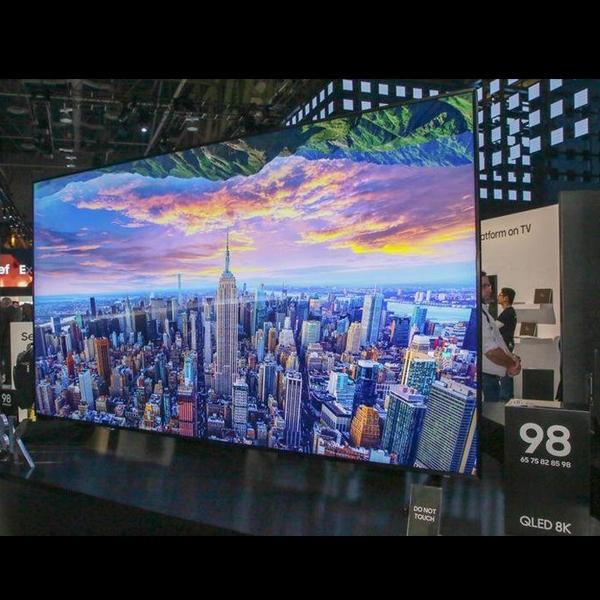 Samsung Resmikan TV QLED Berukuran Jumbo