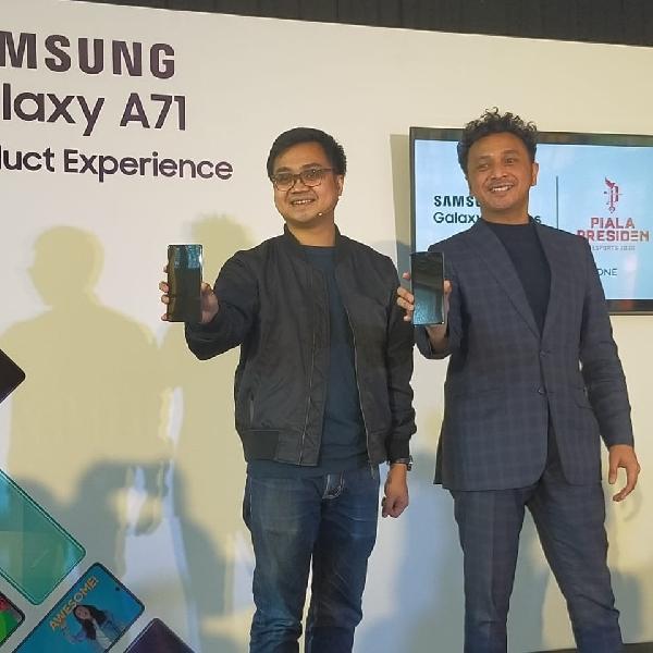 Samsung Galaxy A71 Berkolaborasi Garena Free Fire di Piala Presiden Esports 2020