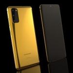 Samsung Galaxy S20 Berlapis Emas