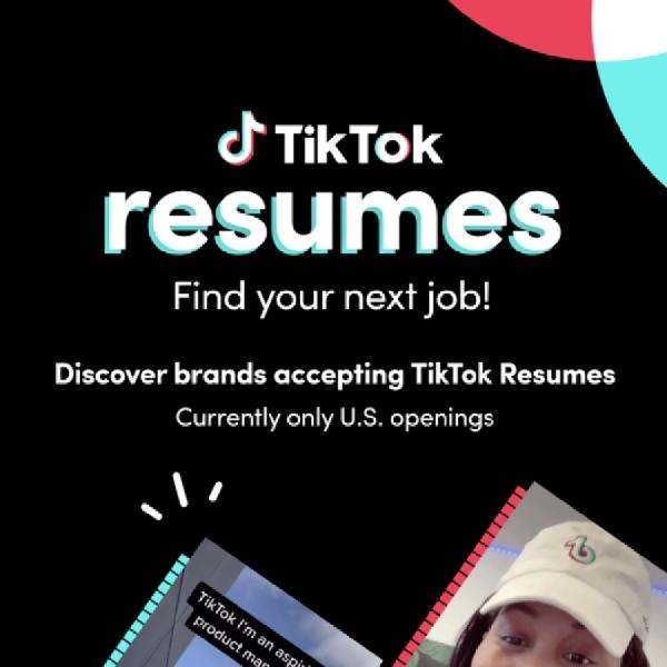 TikTok Resumes Kini Mempermudah Pelamar Pekerjaan Melalui Aplikasi