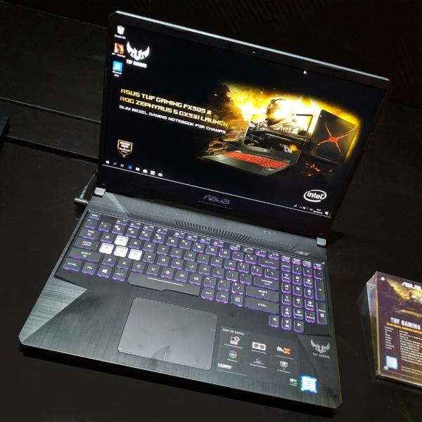 Asus Hadirkan TUF Gaming FX505, Laptop Gaming Gahar Luar Dalam