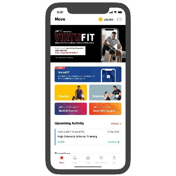 VirtuFIT, Olahraga di Rumah dengan Personal Coach Online