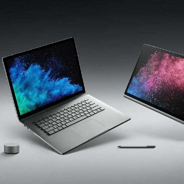 Diam Diam Microsoft Resmi Luncurkan Surface Book 2