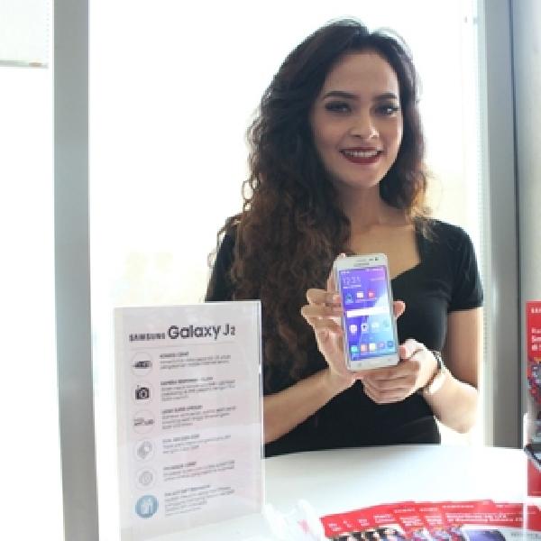 Kembangkan Jaringan 4G LTE, Smartfren Bundling Samsung Galaxy J2 dengan Perdana 4G LTE