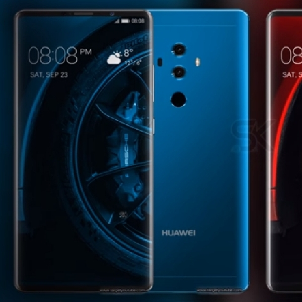 Inikah Wujud Huawei Mate 10 Porsche Design?
