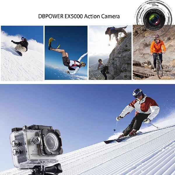 Kamera Aksi Ini Siap Abadikan Kegiatan Ekstrim Anda