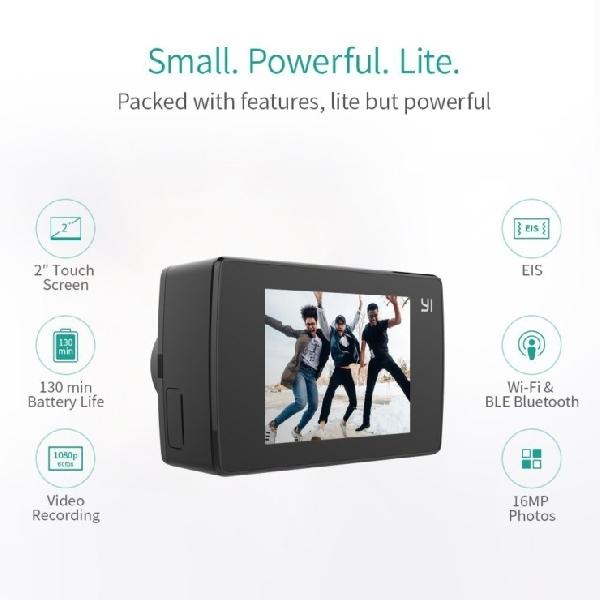 Bisa Rekam Video 4K, Ini Action Cam Terbaru Yi Technology