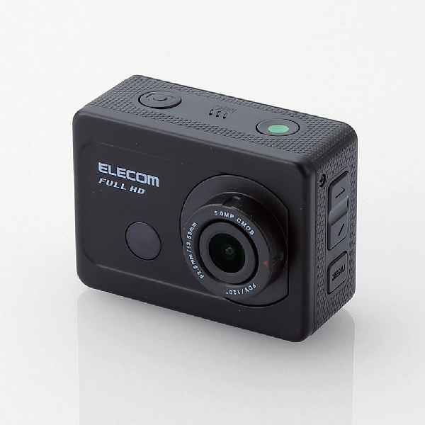 Elecom ACAM-F01, Kamera Aksi Ultra-Compact