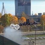 Aerones AD28, Drone Yang Mampu Membersihkan Gedung Pencakar Langit