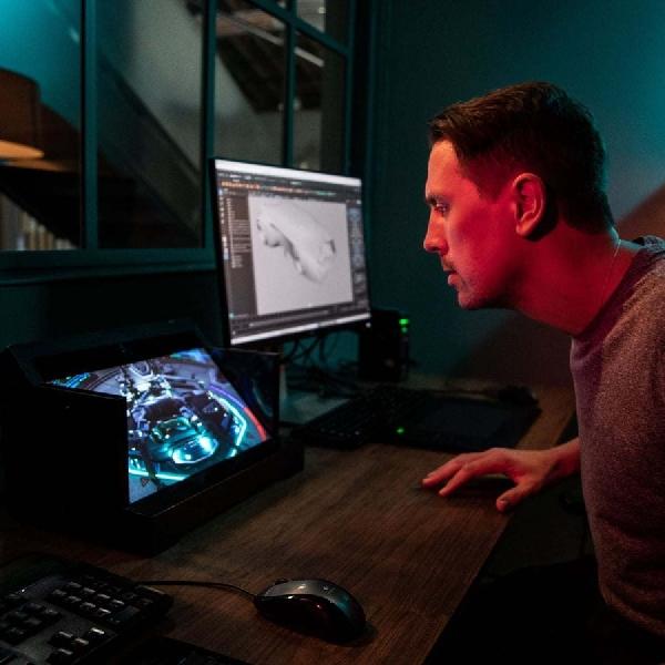 Alami Dunia 3D Sony dengan Spatial Reality Display