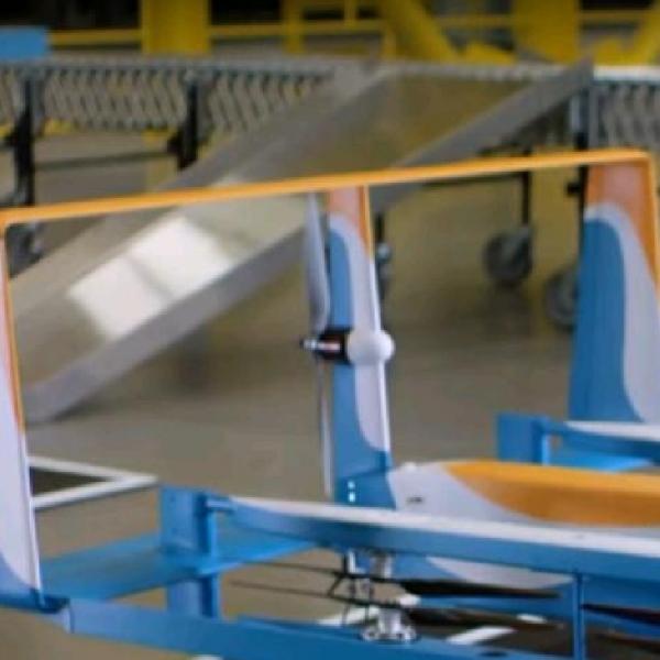 Amazon Prime Air, Drone Hybrid Gabungan teknik Terbang Pesawat dan Helikopter