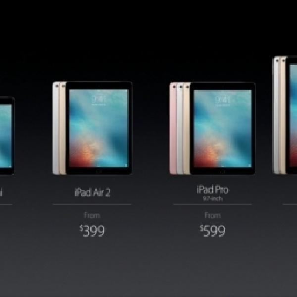 Luncurkan Tablet Baru, Apple Hentikan Produksi iPad Air