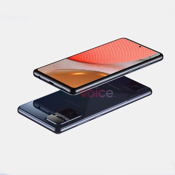 Bocor, Begini Tampilan Samsung Galaxy A72 5G Mid-End Mendatang