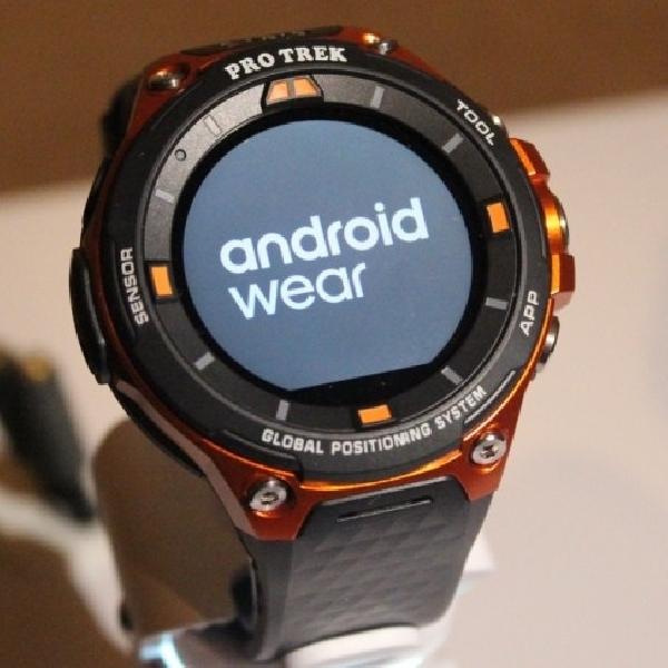 Casio Pro Trek WSD-F20, Android Wear Tangguh Standar Militer