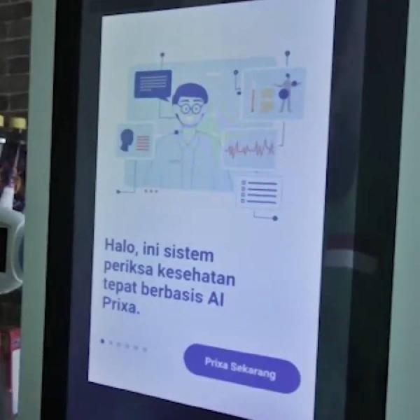 Mesin Berteknologi AI ini Bantu Penerapan PSBB Lebih Maksimal