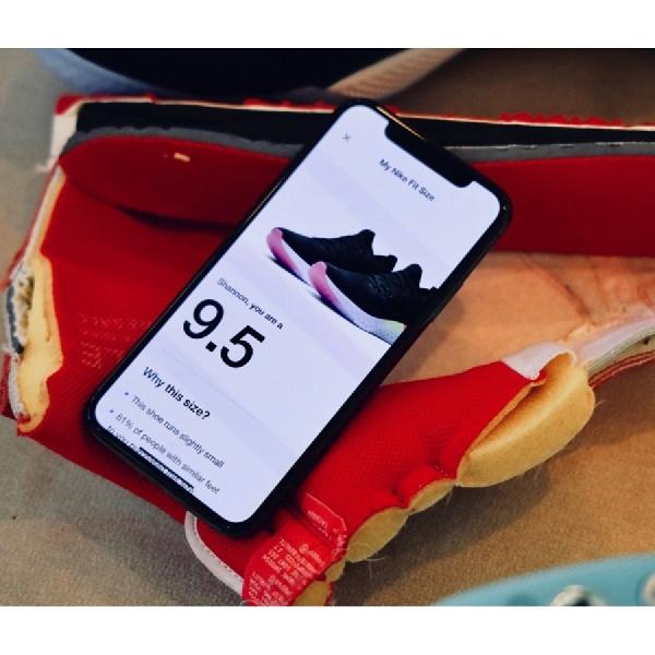 Nike Luncurkan Sistem Pengukuran Sepatu Berbasis AR