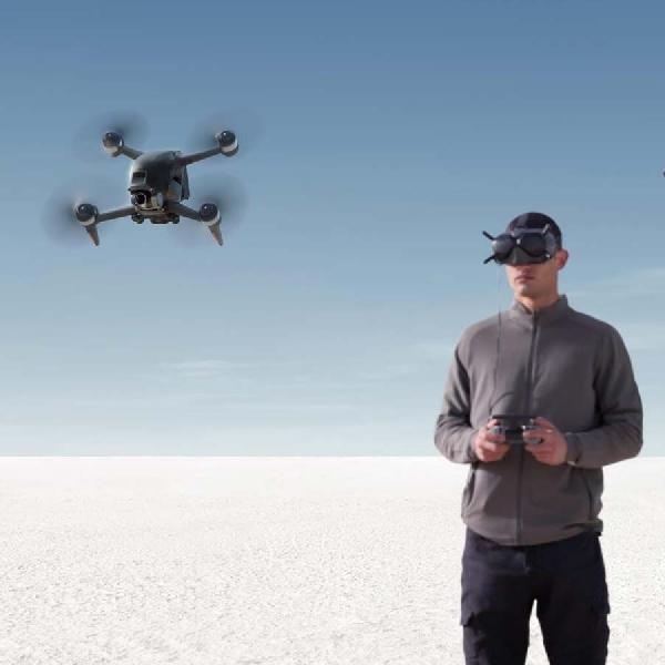DJI FPV Dirilis, Simak Spesifikasi Lengkap Drone Dengan Pendeteksi Rintangan Ini