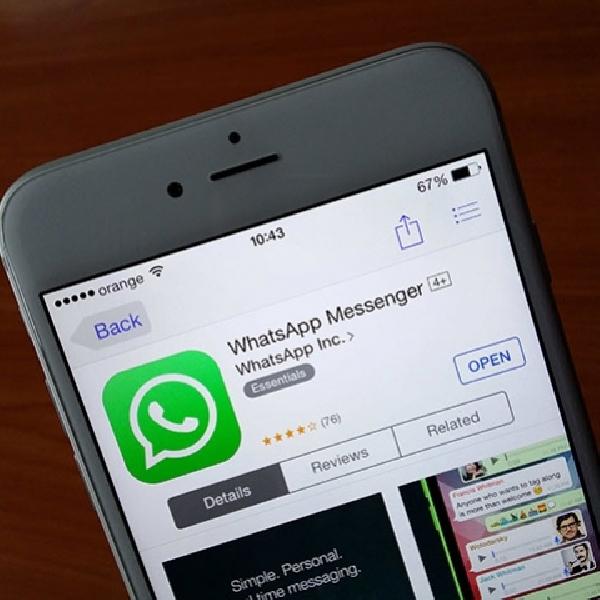 WhatsApp Terbaru untuk iOS Dukung 3D Touch, Bisa Intip Chat
