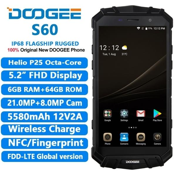 Doogee S60 Smartphone Canggih dengan Casing Kuat