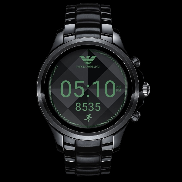 Emporio Armani Connected, Kini Digital dan Memiliki Android Wear 2.0