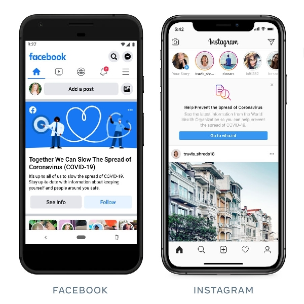 Facebook Gunakan AI Bantu Prediksi Penyebaran Corona