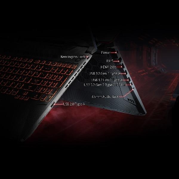 TUF Gaming FX506 Rilis, Performa Tinggi Desain Military Grade
