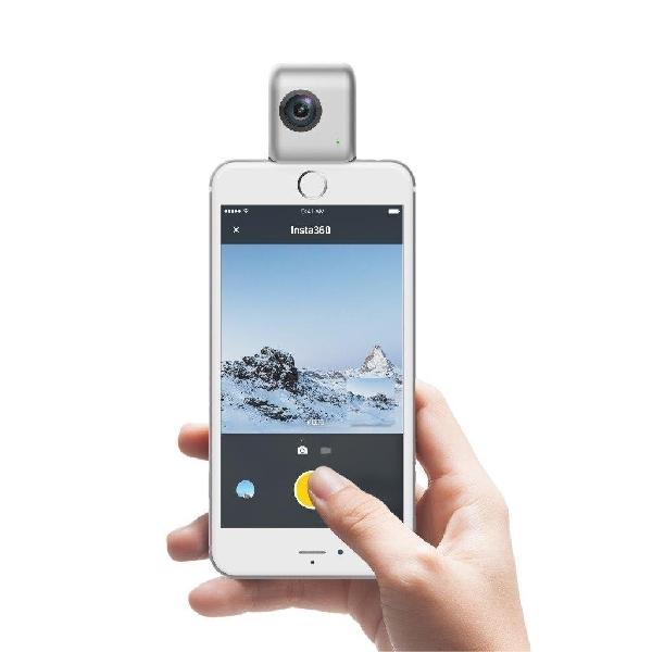 Keren, Alat Ini Bisa Bikin iPhone Rekam Video 360