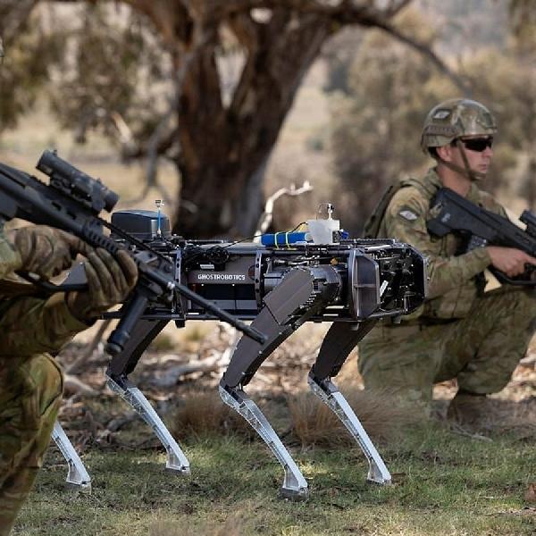 Ghost Robotics Hadirkan Q-UGV Untuk Militer