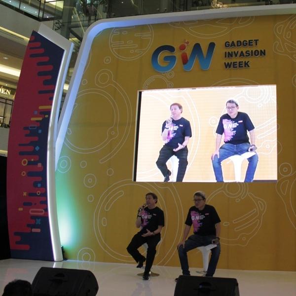 Gadget Invasion Week 2017 Dibuka, Smartphone, Wearable, dan IoT jadi Sorotan