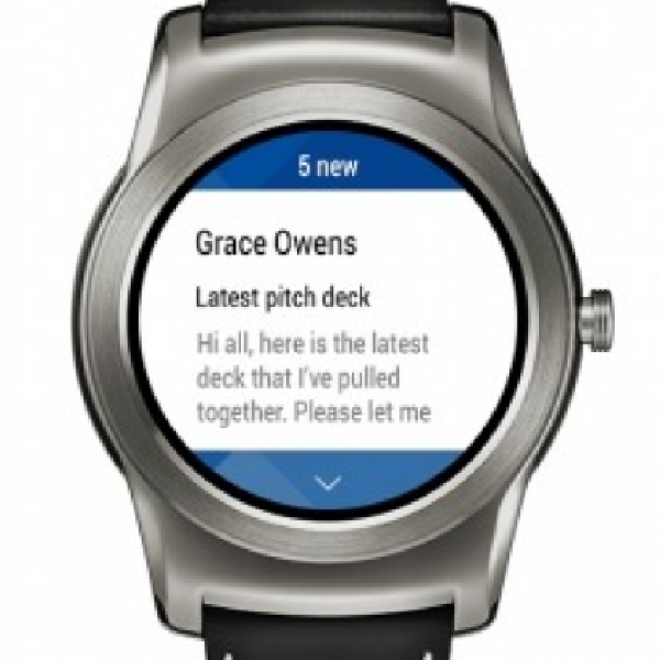 Smartwatch Android Wear Kini Bisa Kelola Email
