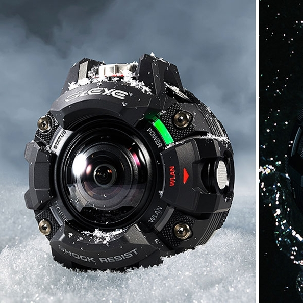 Casio GZE-1, Kamera Aksi untuk Segala Medan dan Cuaca