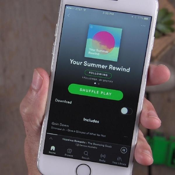 Spotify Tambahkan Tampilan Credit