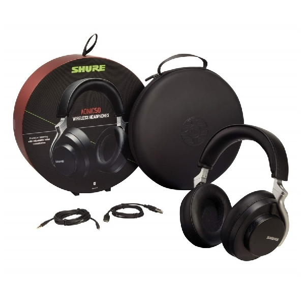 Meluncur, Shure AONIC 50 Headphone ANC Performa Premium
