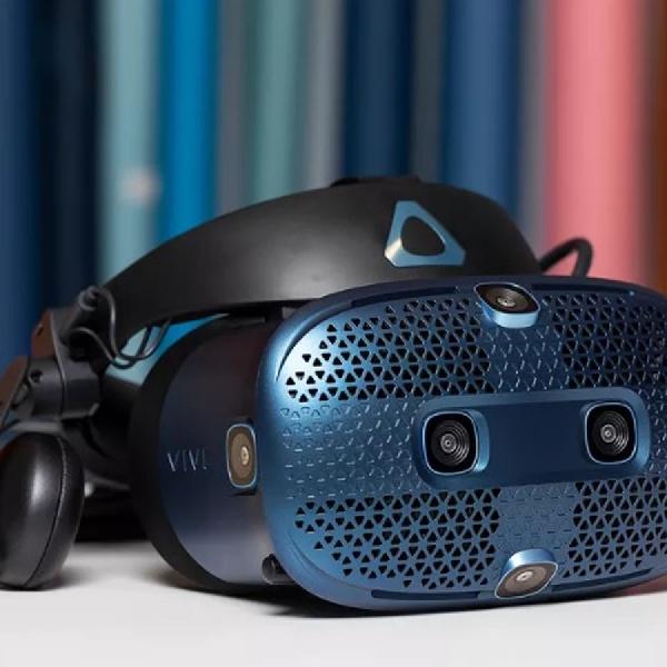 HTC Umumkan VR Lip Tracker untuk Headset Vive Pro