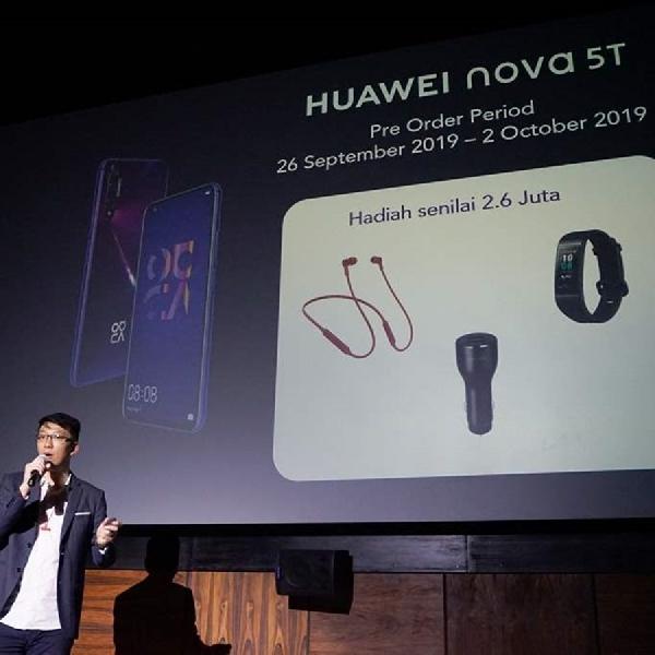 Harga Hampir Rp 7 Juta, Apa Saja Spesifikasi Huawei Nova 5T