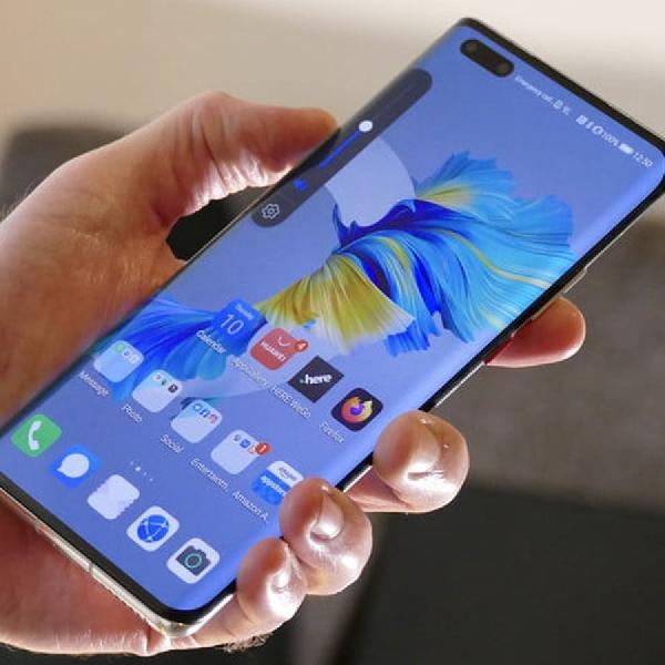 Tombol Volume Rahasia Huawei Mate 40 Pro, Kontrol Ponsel Masa Depan