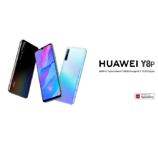 """Huawei Y8p Diam-diam Diluncurkan dengan Layar OLED 6,3"""", Kamera 48MP RYYB, dan Kirin 710F"""