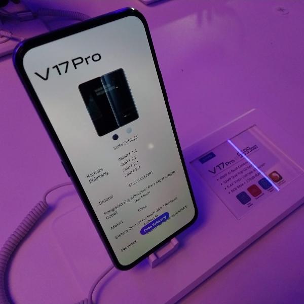 Ponsel Terbaru Vivo V17 Pro Resmi Meluncur Hari Ini