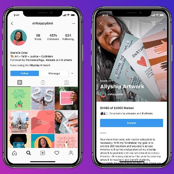 Instagram Akan Mengeluarkan Fitur Untuk Fundraising