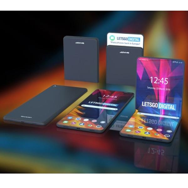 Intip Smartphone Layar Lipat Milik Sharp