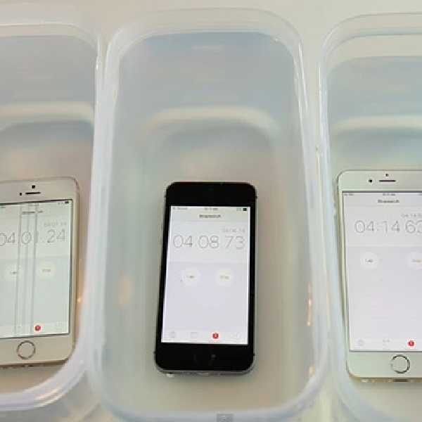 Water Test :  iPhone 6s, iPhone 6s Plus dan iPhone SE, Tangguh Mana ?