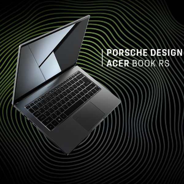 Kolaborasi dengan Porsche, Intip Acer Book RS yang Menawan